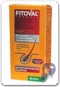 Шампунь Фитовал от вападения волос
