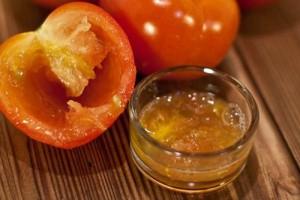 Готовим помидорную маску