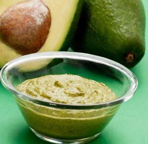 Маска для волос из авокадо