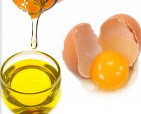 Маска для волос с желтком и медом