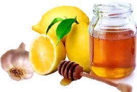 Медово-лимонная маска для волос