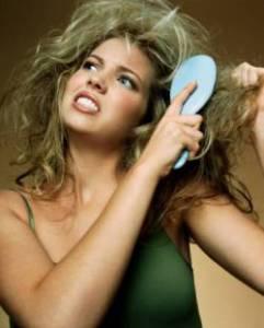 травмировать волосы