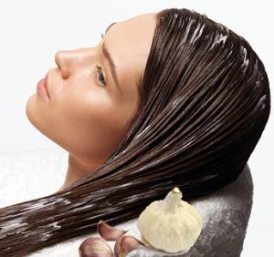 Маска для волос с чесноком
