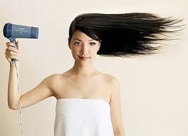 ломкие волосы  от фена