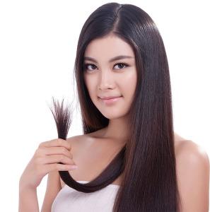 ухоженные кончики  волос