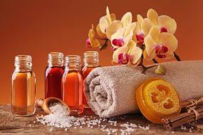 маски из соли ароматических масел
