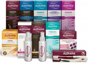 Укрепляющие шампуни против выпадения волос Алерана