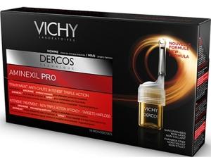 Обзор шампуня Vichy Dercos с Аминексилом