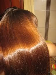 блеск  волос