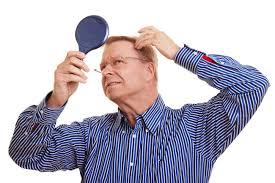 редеют волосы у мужчины