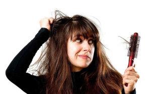 усиленное выпадение волос