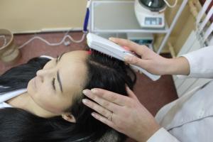 Лазерная расческа от выпадения волос