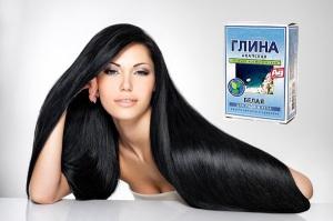 Маска для волос с белой глиной