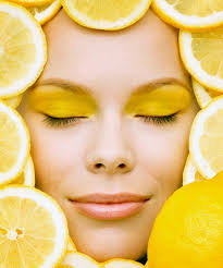 лимонные  маски
