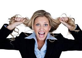 терять волосы  от тресса