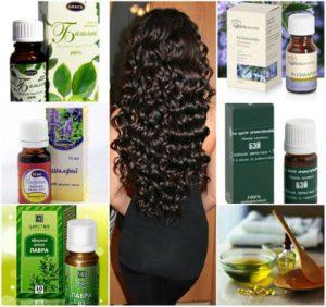 Эфирные масла против выпадения волос