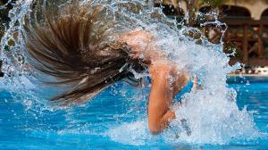 защита волос от морской воды