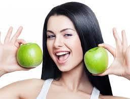 яблоки для волос