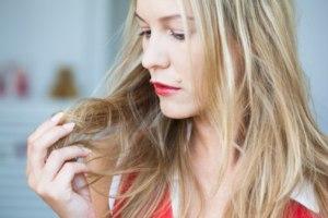 равномерное выпадение волос