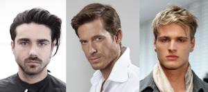 Мужчины с густыми волосами