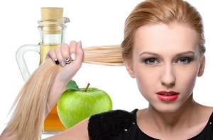 крепость волос и яблочный уксус