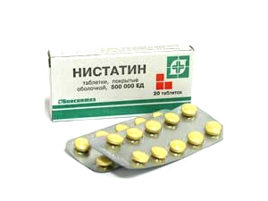 "Таблетки ""Нистатин"" от перхоти"