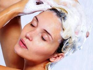 Использование шампуня для объема волос