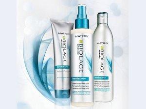 Шампунь Matrix Biolage Keratindose Pro Keratin Shampoo после выпрямления