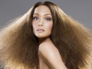 Проблема пушистости волос
