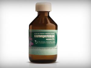 Салициловая кислота от перхоти