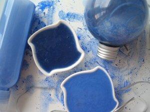 Удаление желтизны при помощи синих оттеночных шампуней