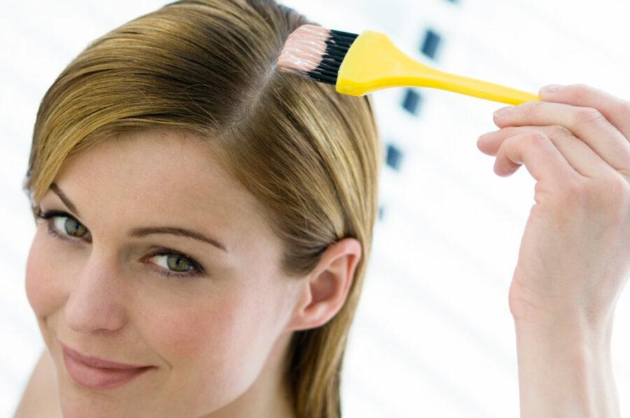 Как правильно окрашивать седые волосы