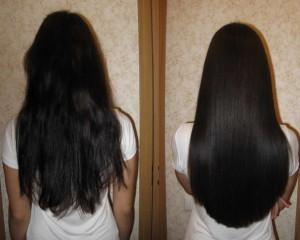 Бразильское восстановление волос