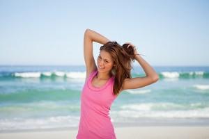 Восстановление волос после моря