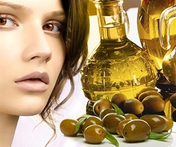 Маска на основе оливкового масла