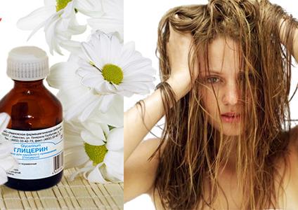 Глицерин для увлажнения волос
