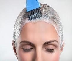 Наносим маску для волос