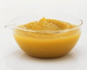 Яблочное пюре для волос