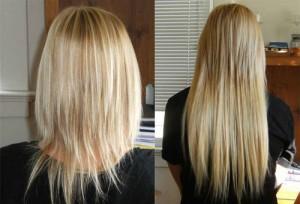Почему выпадают волосы нарощенные