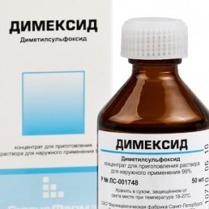 Димексид как средство для волос