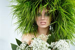сила трав для укрепления волос