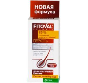 Фитовал Шампунь против перхоти дерматологический