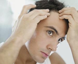 Волосы выпадают на висках