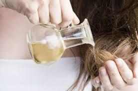 масло на кончики волос