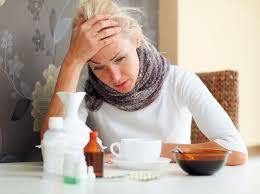простуда и    плохие  волосы