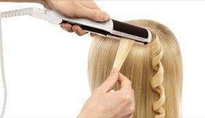 утюжок для завивки волос