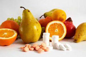 фрукты  и  витамины