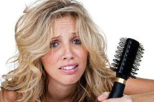 Борьба с выпадением волос у женщин