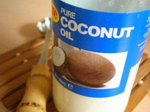 банка кокосового масла