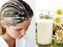 Маски для волос из кефира против выпадения